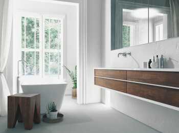 Пример оформления ванной комнаты